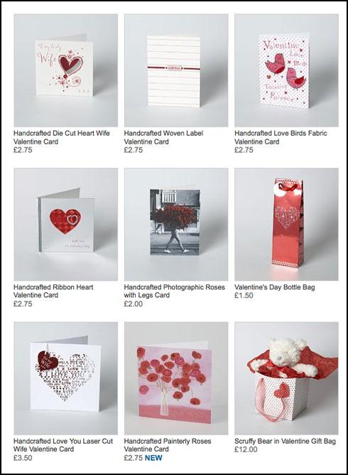 tigerprint: valentines day range in m&s, Ideas