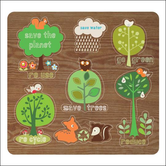 Eco-puzzle