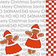 Gingerbread xmas card