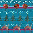 Reindeer woods pattern