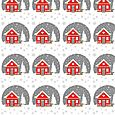 House pattern repeat