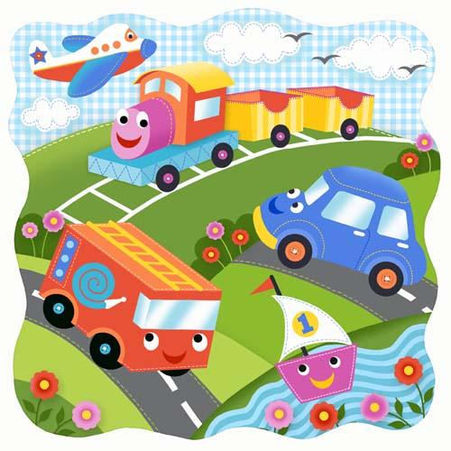 Transportation-puzzle