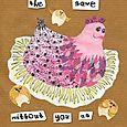 Mother hen card
