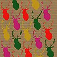 Brown paper Stags