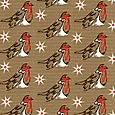Brown paper robins