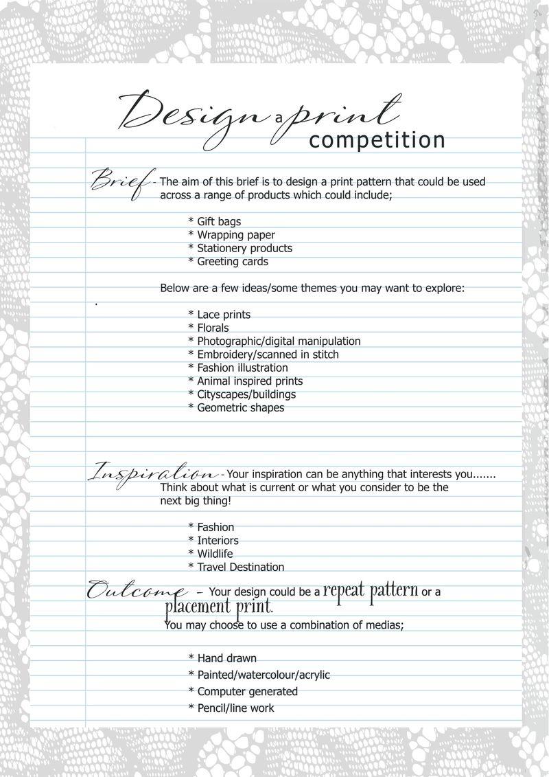 Design a print1