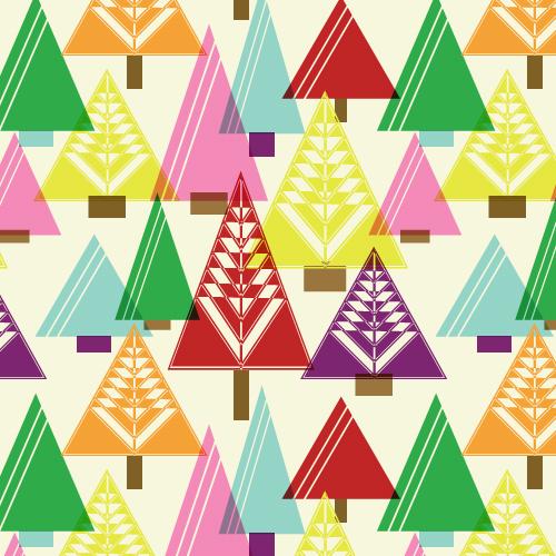 Christmas-surfacepattern-tree