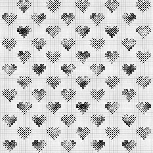 Astha Medirattagraphpaper hearts
