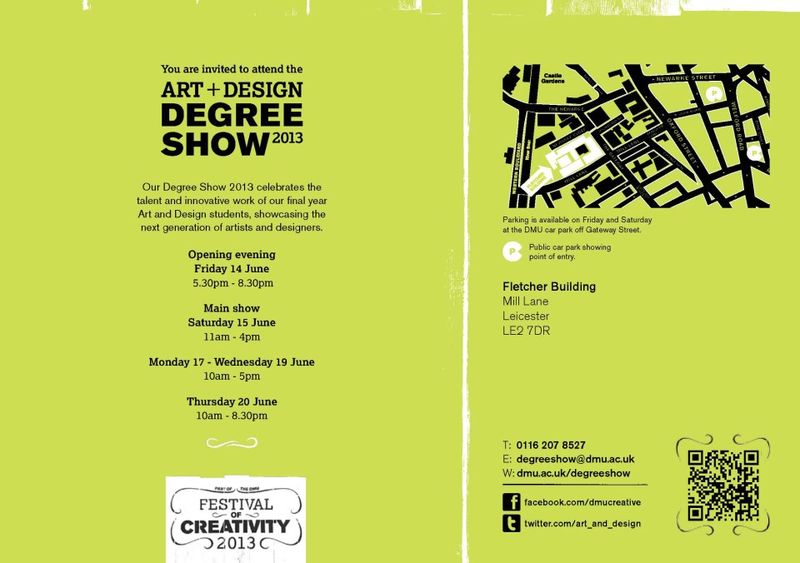 DMU degree show 2013