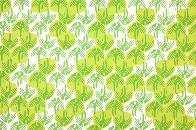 3 Frond fabric in Meadow - Credit In Two Dimensions