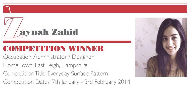 ZaynahZahid_CompetitionProfile_Name