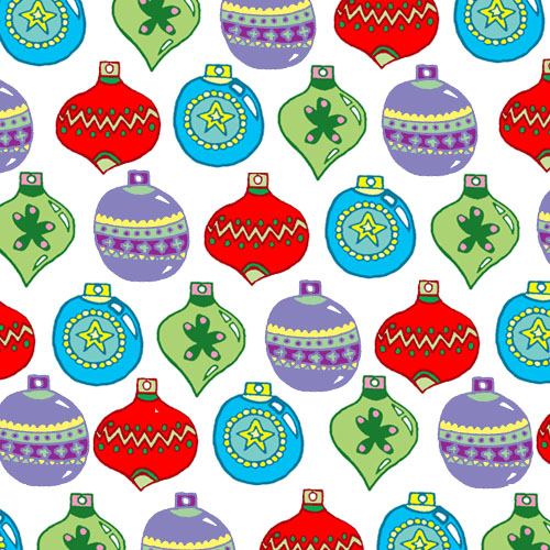 2012 Christmas Pattern: Baubles