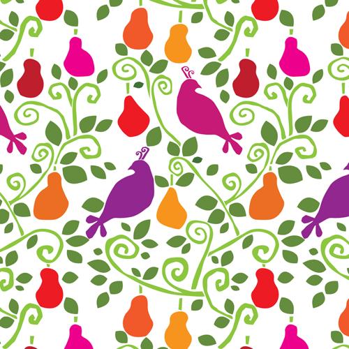 2012 Christmas Pattern: Partridge in a pear tree72