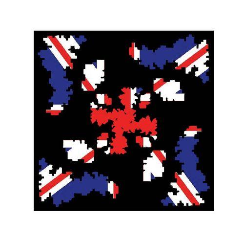 Britain flag lego