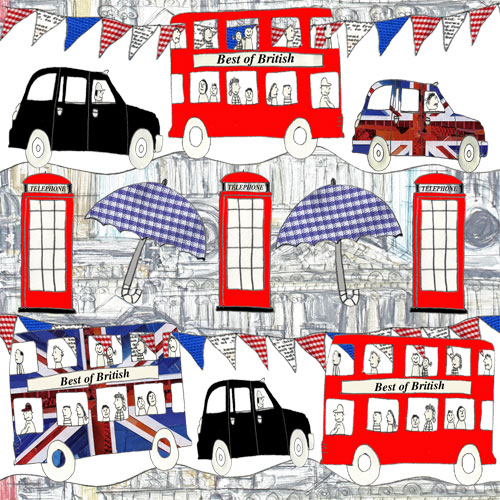 My designs are a fun look at all that is english