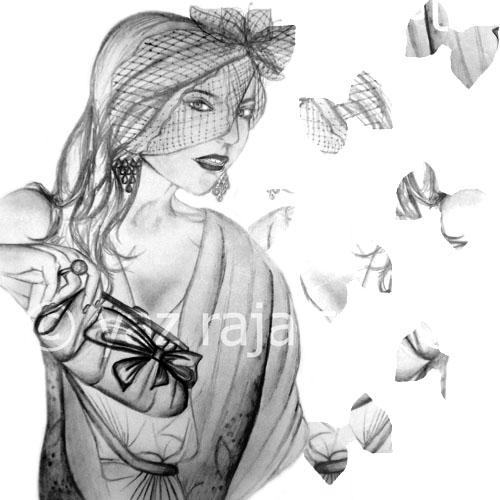 Black&whiteillustration_yazraja