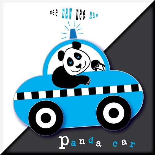 Panda car five piece chunky puzzle
