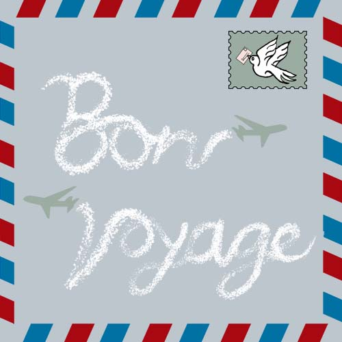 bon voyage Looking for the perfect bon voyage gift you can stop your search and come to etsy, the marketplace where sellers around the world express their creativity through handmade and vintage.