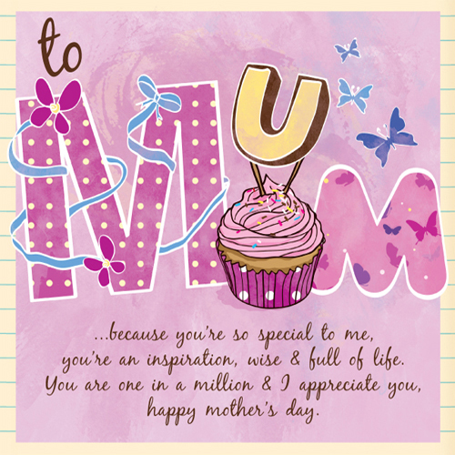 Special Mother's Day Card by Naomi