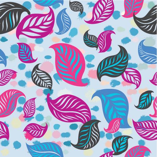 Spring Surface Pattern Foliage 01