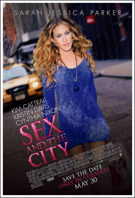 Sex and the city movie web site